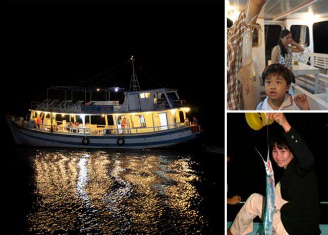 Câu mực đêm tại Phú Quốc