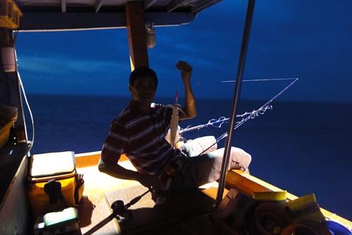 Câu mực đêm tại quần Đảo An Thới