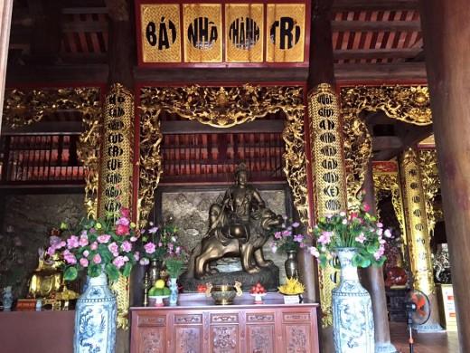 Kiến trúc trong chùa Hộ Quốc