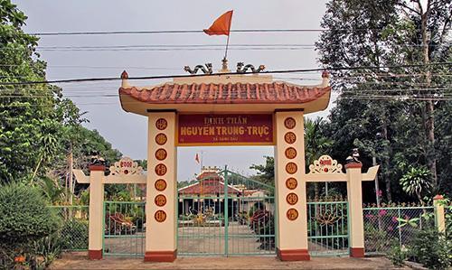 Cổng tam quan đền thờ Nguyễn Trung Trực Phú Quốc