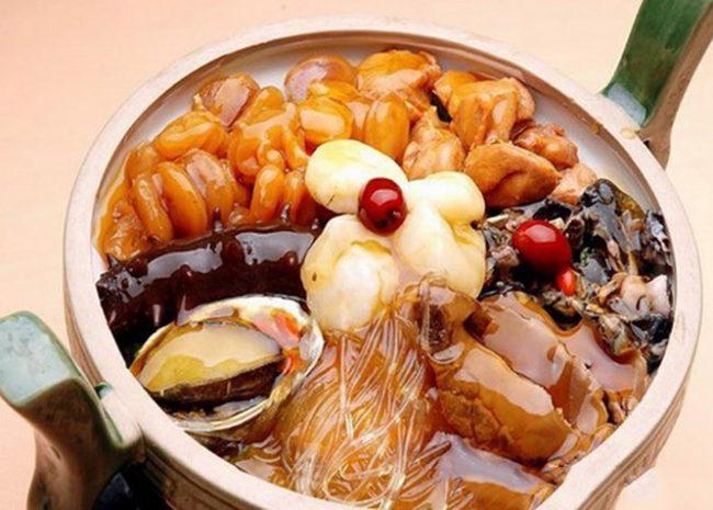Món ăn từ Hải Sâm