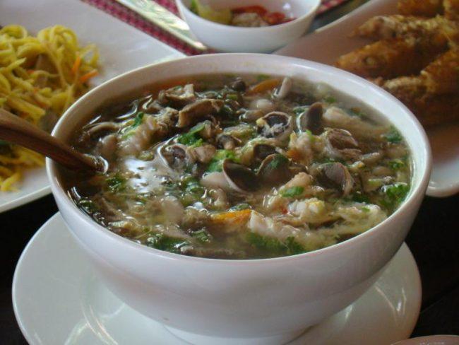 Món ăn nấm tràm